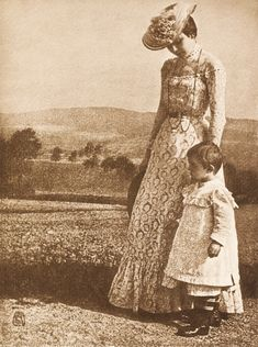Hugo Erfurth: Porträt in Landschaft 1903