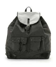 White Mountaineering × PORTER 12SS LEATHER × CORDURA NYLON BACK PACK    ¥ 59,850  from http://shop.beams.co.jp/shop/bjirushi/goods.html?gid=1308646