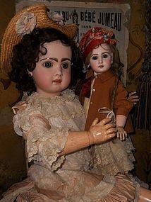 "Beautiful French Bisque Bebe "" Mlle. Jumeau "" Size 8 - WhenDreamsComeTrue #dollshopsunited"