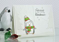 Joyful Creations with Kim: TE Sneak Peek Day 1: It's penguining to look a lot like Christmas!