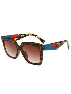 Anti Fatigue Full Frame Square Sunglasses 5899f6269b73f