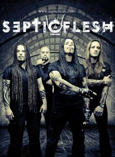 Septic Flesh. Symphonic Death Metal