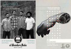 Hoy Viernes, 22:00:  GUINEO en concierto (1ª noche) presenta su disco 'Sobre La Marea' + LOS MUCHACHOS! presentan Djs/ Víctor Reyes & Jonathan Castelló + Noche Tequila 'Olmeca Chocolate'