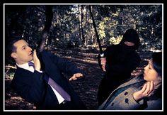 Ninja attack engagement photos!