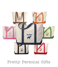 Horse Barn Bag   Personalized Horse Tote with name