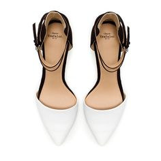 VAMP SHOE WITH ANKLE STRAPS - Shoes - TRF - ZARA United States