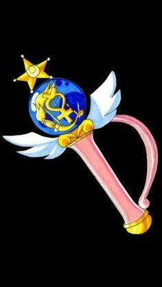 """Sailor Moon"" - Super Sailor Mercury's transformation pen."