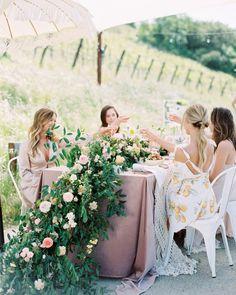bachelorette party alternative at vineyard Wedding Trends, Wedding Designs, Wedding Ideas, Wedding Goals, Diy Wedding, Pre Wedding Party, Wedding Dinner, Garden Wedding, Summer Wedding