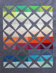 Sessoms - pattern by Carolyn Friedlander, feat. her Architextures fabric