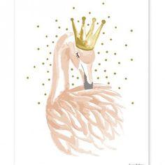 Lilipinso flamingo plakat til 129,- Hurtig levering