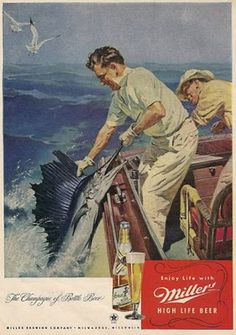 old miller high life ads - Google Search