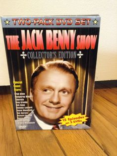 The Jack Benny Show Collector's Edition 2Pk Dvd Set With 15 Episodes Black&White