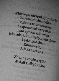 Edward Stachura - Z nim będziesz szczęśliwsza. Szkoda, że to tylko fragment. Daily Quotes, Me Quotes, Good Heart, Great Words, Powerful Words, Poetry Quotes, Word Porn, In My Feelings, Quotations