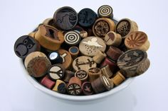 Hands down best place to get natural wood and stone cut gauges and plugs <3