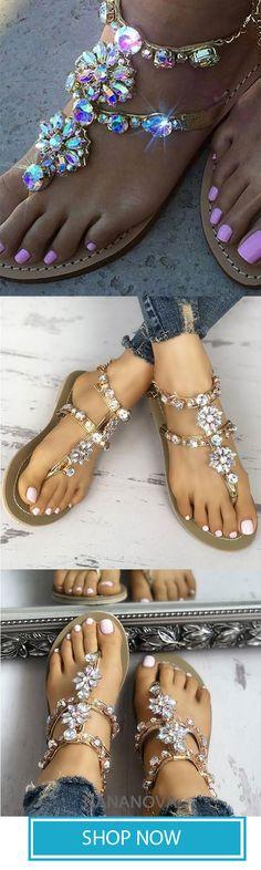 25ae2c604b7c 192 Best Diamante sandals images in 2019