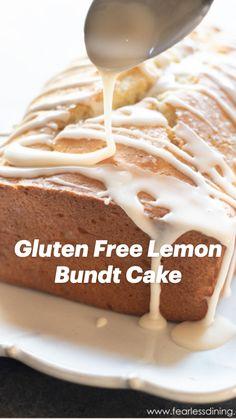 Gluten Free Vanilla Cake, Gluten Free Cupcakes, Gluten Free Sweets, Gluten Free Baking, Wheat Free Recipes, Gluten Free Recipes, Low Sugar Banana Bread, Lemon Recipes, Beef Recipes
