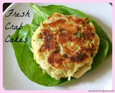 Fresh Crab Cakes Recipe Main Dishes with fresh chives, flat leaf parsley, canola, lemon rind, fresh lemon juice, ground black pepper, ground red pepper, large eggs, panko breadcrumbs, lump crab meat, olive oil
