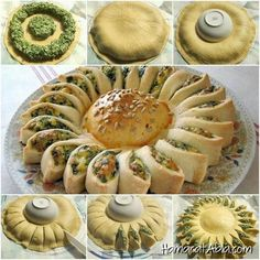 to Make Delicious Sunny Spinach Pie With Recipe How to DIY Sunny Spinach Pie - There's not much chance of me actually making this, but I can dream. :)How to DIY Sunny Spinach Pie - There's not much chance of me actually making this, but I can dream. Pastry Recipes, Pie Recipes, Appetizer Recipes, Cooking Recipes, Yummy Recipes, Comida Diy, Homemade Pastries, Spinach And Cheese, Spinach Cake