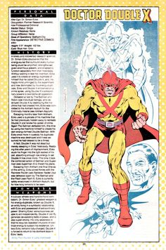Doctor Double X drawn by Rich Buckler and Larry Mahlstedt