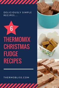 Thermomix Christmas Fudge Recipes from @thermoblissblog