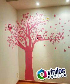 Vinil Decorativo Árboles infantil