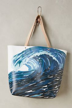10 Totes You Can Take From the Beach to the Street - FabFitFun Summer Handbags, Summer Bags, Something Wild, Work Bags, High Tide, Bold Prints, Laptop Bag, Womens Tote Bags, Surface Design