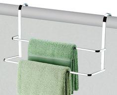 Suporte de toalha para box - Duplo - Design e elegância em seu banheiro! - Banheiro / Ganchos, Travas e Suportes