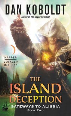 Pat's Fantasy Hotlist: Kay Kenyon reviews The Island Deception by Dan Koboldt