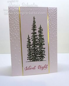 Silent Night ... case from @stampinglee .. step by step instructions on my blog. #stampingleeyours #stampinup #stampalatte #wonderland #christmas