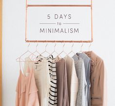 This is the easiest way to build the minimalist closet of your dreams.