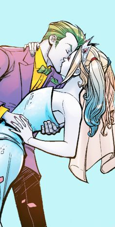 """ I had HOPED we would leave TOGETHER, but this deram has to end. "" Harley Quinn #13 ( 2016 )♥ ♦ «Joker & Harley»"