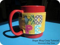 Hope Mug Cozy tutorial
