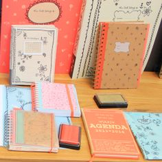 Soft coloured stationery. [ From: http://www.studiosjoesjoe.com/search?updated-max=2013-02-15T00:17:00-08:00=5 ]