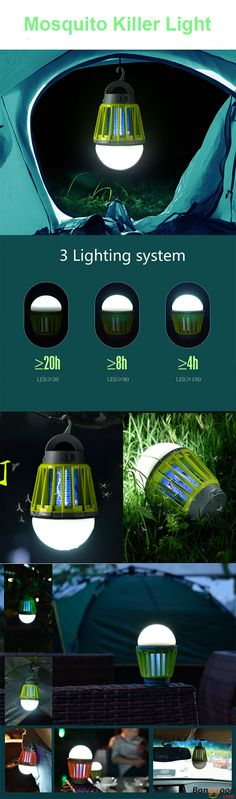US$24.99 + Free shipping. Outdoor garden light, outdoor mosquito lamp, mosquito killer light, USB charging light, waterproof night lantern. Washable, waterproof, usb charging, small size, perfect for camping ,night fishing or outdoor party.