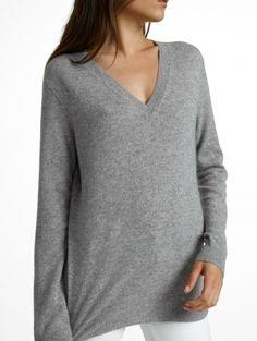 Essential Cashmere V Neck Cashmere Sweaters f81f9fa6b