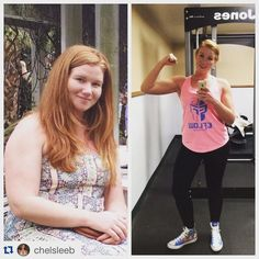 Read her transformation success story! Before and after fitness motivation and beginner tips from women who hit their weight loss goals and got THAT BODY with training and meal prep. Learn their workout tips get inspiration! | TheWeighWeWere.com