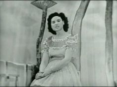 """Kitty Wells, the """"Queen of Country Music,"""" was born 94 years ago today 8-30-13. Wells died on July 16, 2012 in Madison, Tennessee, from complications of a stroke at age 92. Her 1952 hit recording, """"It Wasn't God Who Made Honky Tonk Angels,"""" made her the first female country singer to top the U.S. country charts, and turned her into the first female country star. Kitty Wells - Searching (For Someone Like You)"""