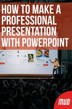 How to Make a Professional Presentation With PowerPoint --- Our PowerPoint tips will help you avoid common mistakes, keep your audience engaged, and create a professional presentation, in form and content. Create Powerpoint Presentation, Powerpoint Tips, Microsoft Powerpoint, Microsoft Office, Microsoft Excel, Microsoft Windows, Tips For Presentations, Microsoft Paint, Short Cuts