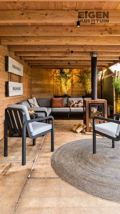 Backyard Pavilion, Backyard Buildings, Backyard Garden Design, Backyard Pergola, Patio Design, Outdoor Seating Areas, Garden Seating, Outdoor Garden Rooms, Outside Room