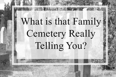 Family cemeteries are gold mines for you the genealogist.Are you finding all possible clues for your ancestors in your cemetery research? Free Genealogy Records, Genealogy Research, Family Genealogy, Cousin Family, Cousins, Types Of Communities, Find Your Ancestors, Cemetery Records, Family Information