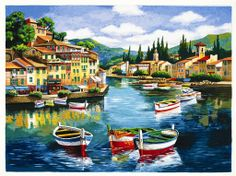 Anatoly Metlan...I bought this at an art auction on our last cruise ...what a BLAST!!