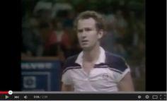 John McEnroe's most famous outburst happened in Stockholm in 1984 Stockholm, Tennis, Fans, Shit Happens, Followers