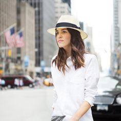 Whether you're a floppy hat kind of girl or you're all about the modern Panama style, here you'll find a style for you that will top off any look with an easy-breezy edge.