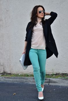 Color block  #fashion #style #outfit  #look , Zara