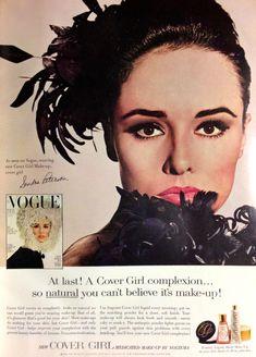 Cover Girl Cosmetics Ad, 1964