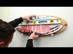 "1"" Diameter Adjustable Panel Bracket - Multi-Purpose Support Hangers - Supports & Signage"