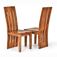 Riverwood Side Chair Chestnut (Set of 2) - Steve Silver : Target