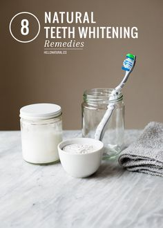 8 Natural Teeth Whitening Remedies | HelloNatural.co