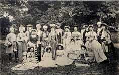 Edwardians dressed as Georgians: Chelsea Pageant at Ranelagh House.  (Double the costume geekery!)