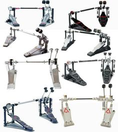 Some Sweet Double Kick Pedals.